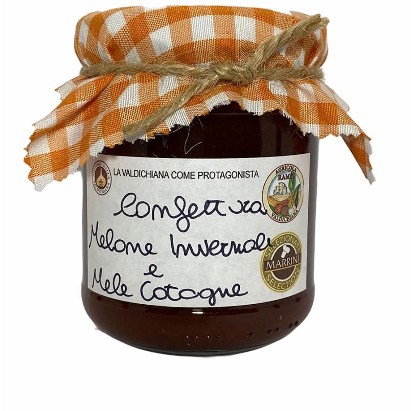 Confettura di melone e mele cotogne - Agricola Valdichiana Rampi
