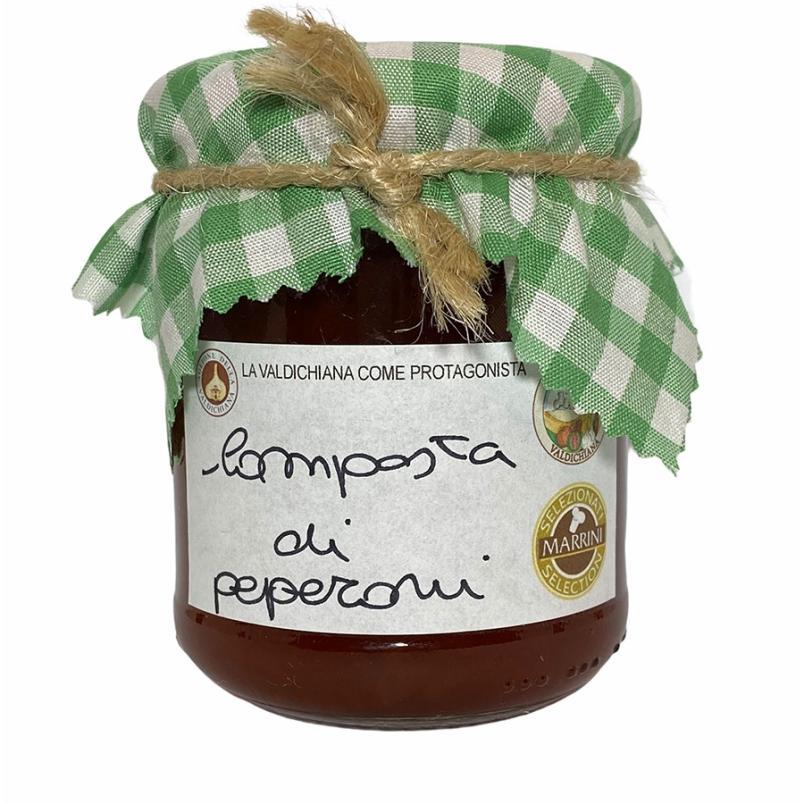 Composta di peperoni - Agricola Valdichiana Rampi