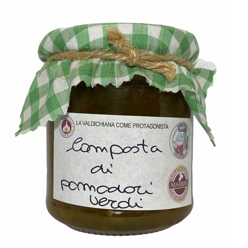 Composta di pomodori verdi - Agricola Valdichiana Rampi