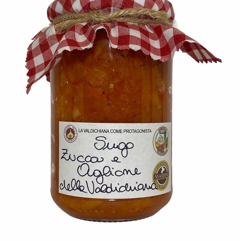 Sugo di zucca e aglione - Agricola Valdichiana Rampi
