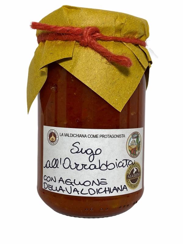 Sugo arrabbiata e aglione valdichiana - Agricola Valdichiana Rampi