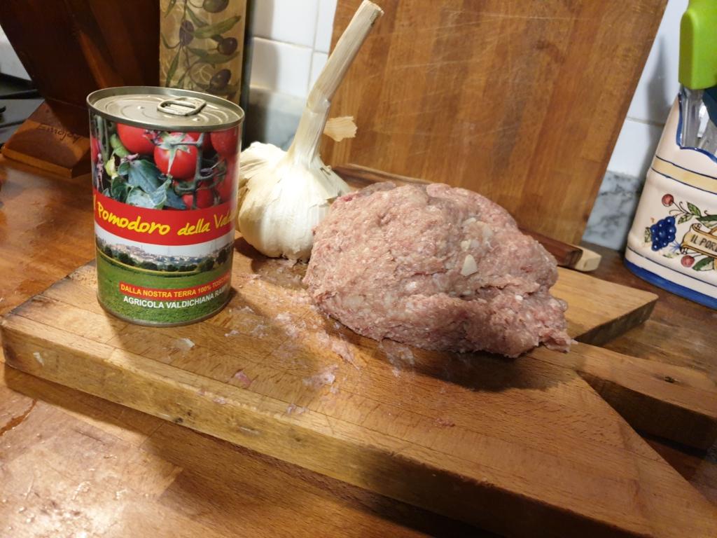 Polpettine al forno con Chianina e Aglione della Valcichiana- Agricola Valdichiana Rampi - Filosofie Cucina